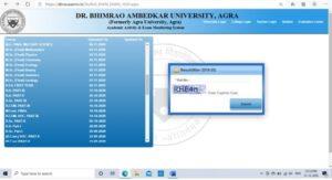 Procedure DBRAU-Agra Result MA Private 2019 - 2020